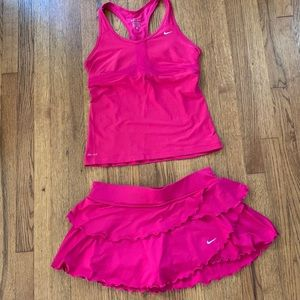 NIKE Tennis Tank AND Skirt!
